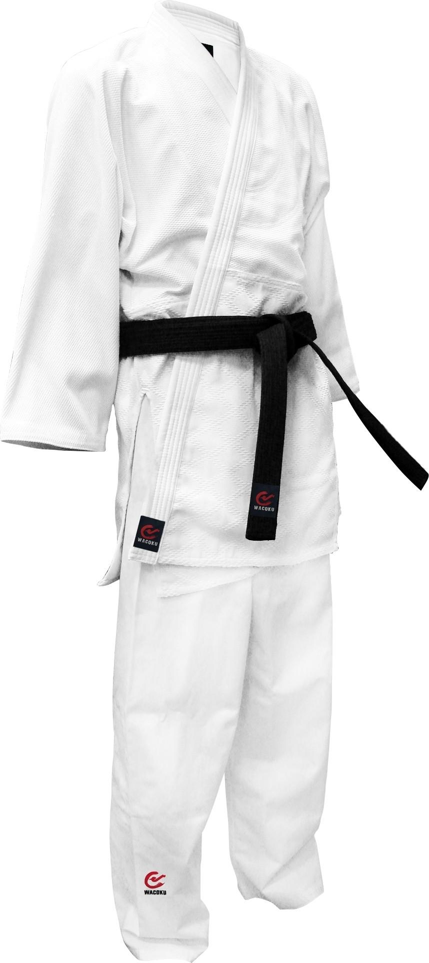 Wacoku JUDO Uniform 950GM (White)