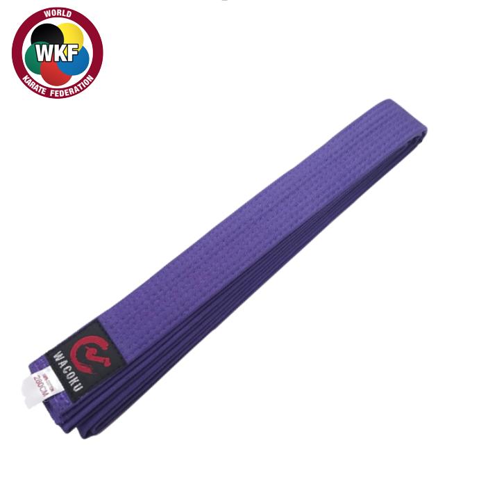 Wacoku Double Round Colour Belt - Purple(#220)