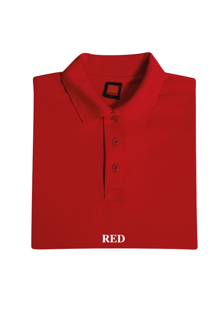 Solid Colour Collar Neck Tee (Dry Fit)
