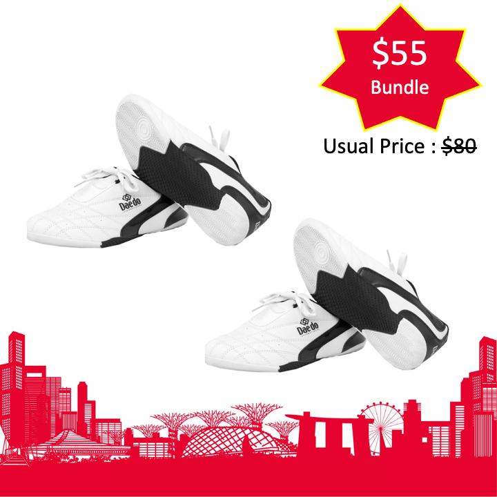 Daedo Kick Shoes Bundle Set