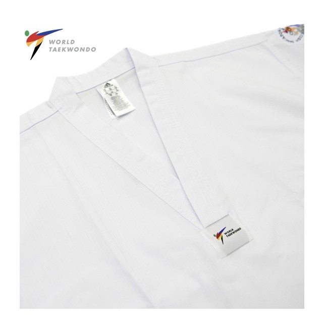 Adidas WT Approved AdiStart White Collar Uniform (2019 New Model)